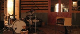 Late night photo of tracking session.