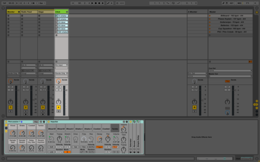 Impulse device in Ableton Live.